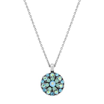 348815-Mariana Green and Blue Angel Necklace