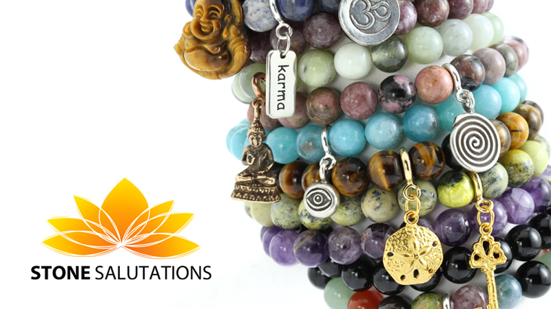 Stone Salutations - Holistic Stone Stretch Bracelets