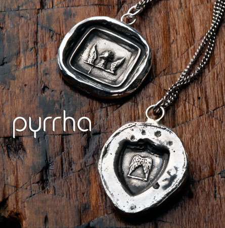 Pyrrha Jewelry - Wax Seal Pendants, Necklaces, Rings and Bracelets