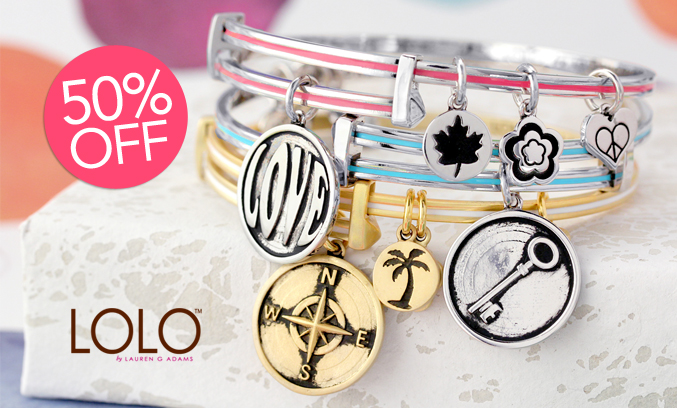 LOLO Bangle Bracelets by Lauren G. Adams