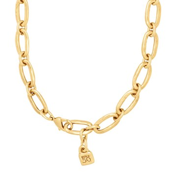 Uno de 50 Link Gold Necklace