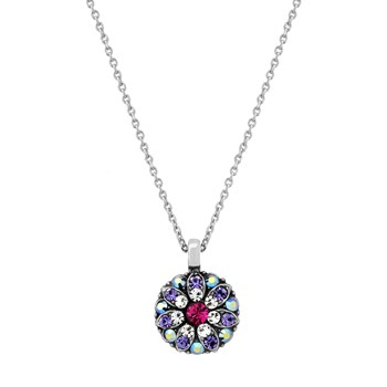 348801-Mariana Purple and Iridescent Angel Necklace