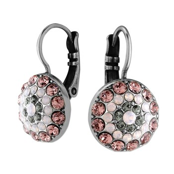 Mariana Grey & Pink Iridescent Earrings 655-2528