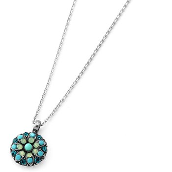 348813-Mariana Green and Blue Angel Necklace