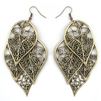 Cascading Leaf Dangle Earrings 333535