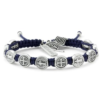 My Saint My Hero Navy Blue Blessing for America Bracelet