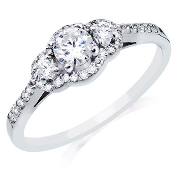 345524-Camelot Bridal Briana Diamond Ring