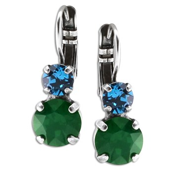 348854-Mariana Blue and Green Earrings