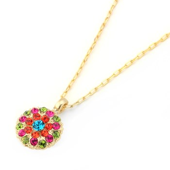 655-02318-Mariana Multi-Color Angel Necklace