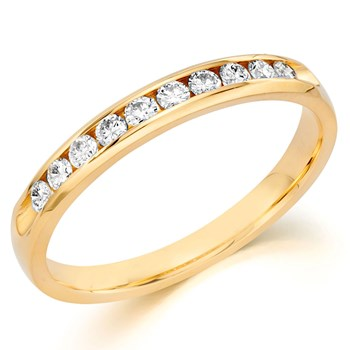 345696-Camelot Bridal Manoir Diamond Anniversary Ring