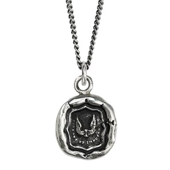 Pyrrha Time is Precious Talisman Necklace