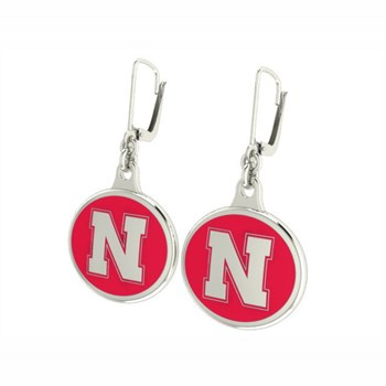 344136 Nebraska Huskers Collegiate Earrings LIMITED QUANTITIES!