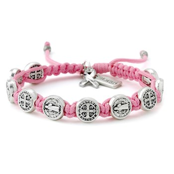 My Saint My Hero Pink Blessing for a Cure Bracelet