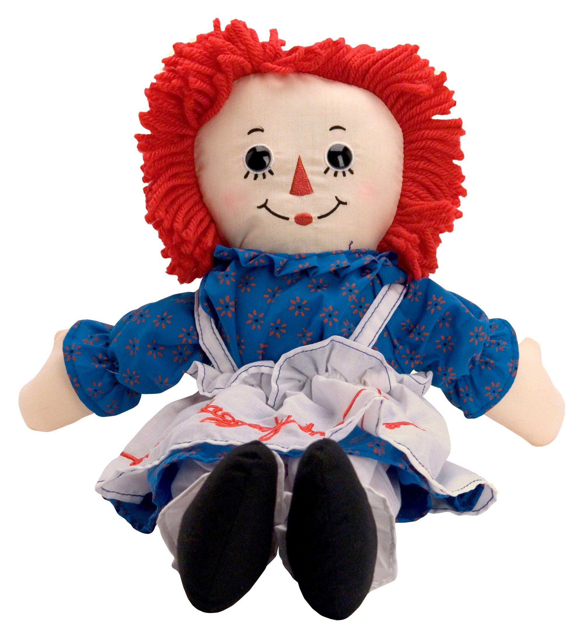 raggedy ann soft doll toys games toys dolls doll accessories