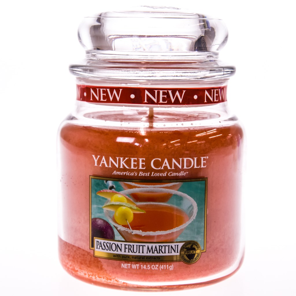 Yankee Candle Country Kitchen Yankee Candle Reg Passion Fruit Martini Medium Jar Candle Home