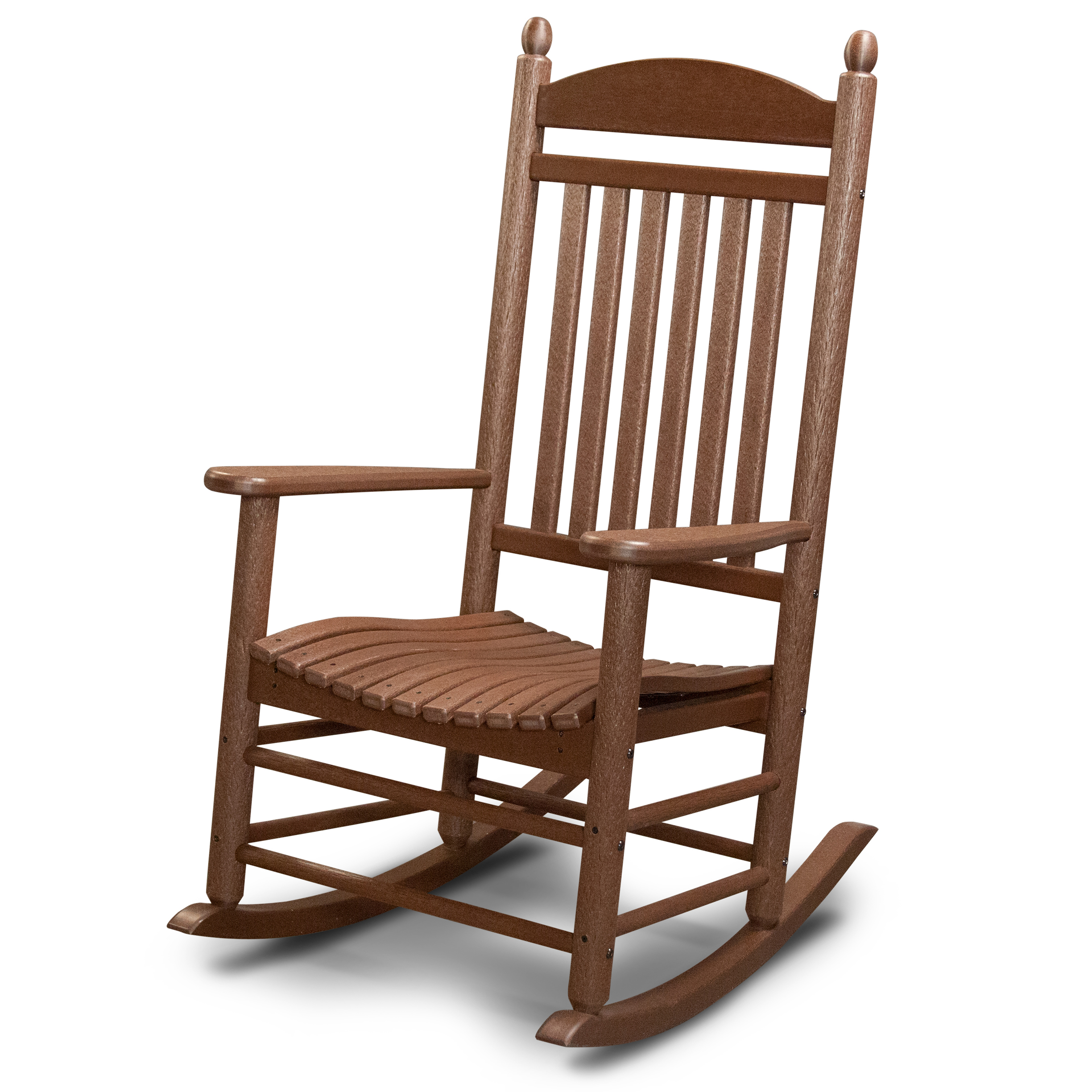 Outdoor furniture all chairs rocking chairs jefferson outdoor rocking - Polywood Reg All Weather Jefferson Slat Rocker Outdoor Furniture Rocking Chairs Cracker Barrel Old Country Store