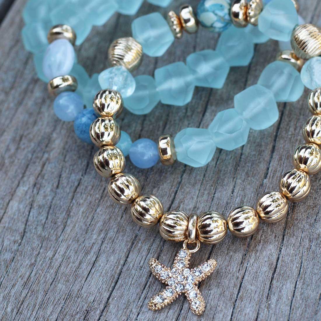 3-Piece Stretch Bracelet Set