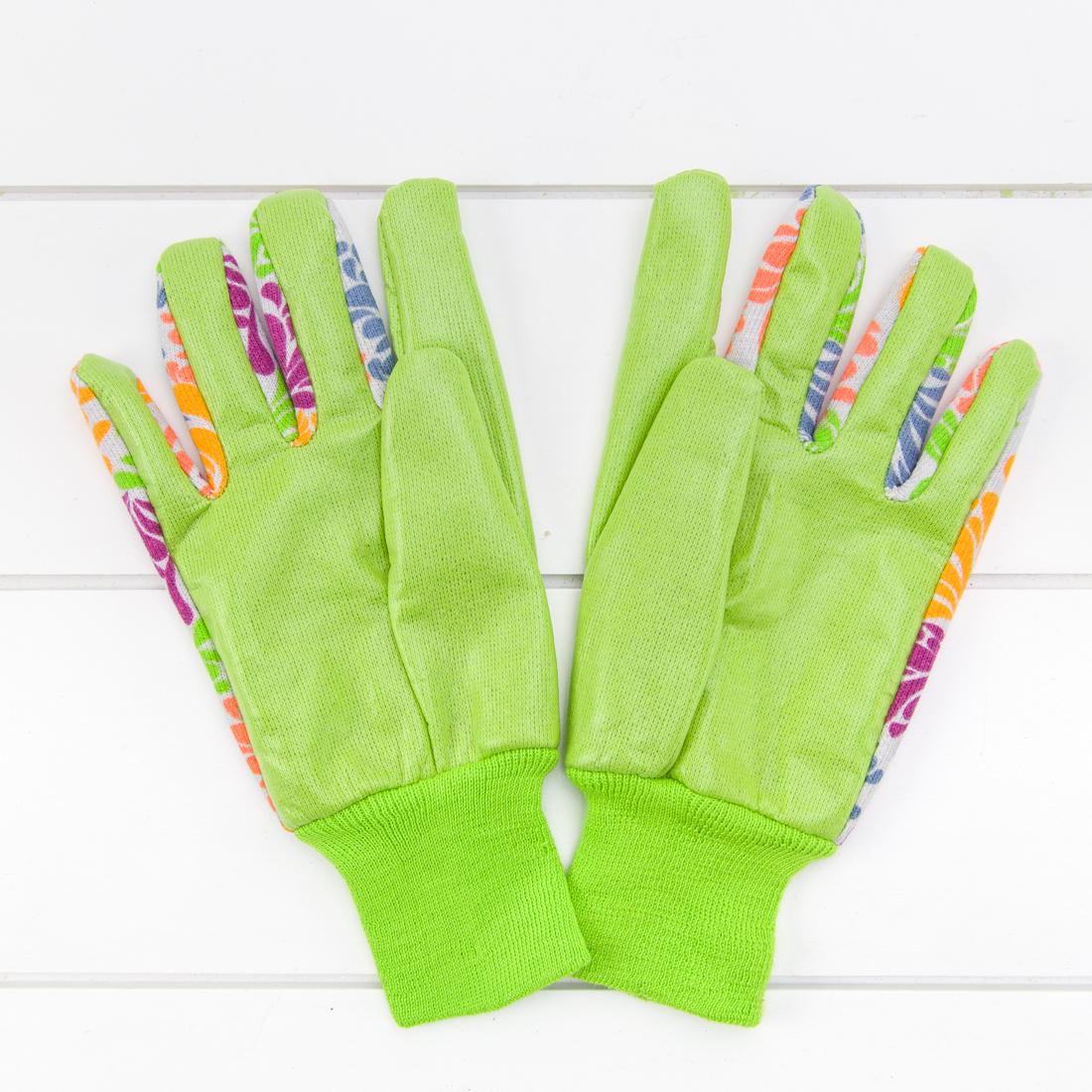 Floral Printed Garden Gloves