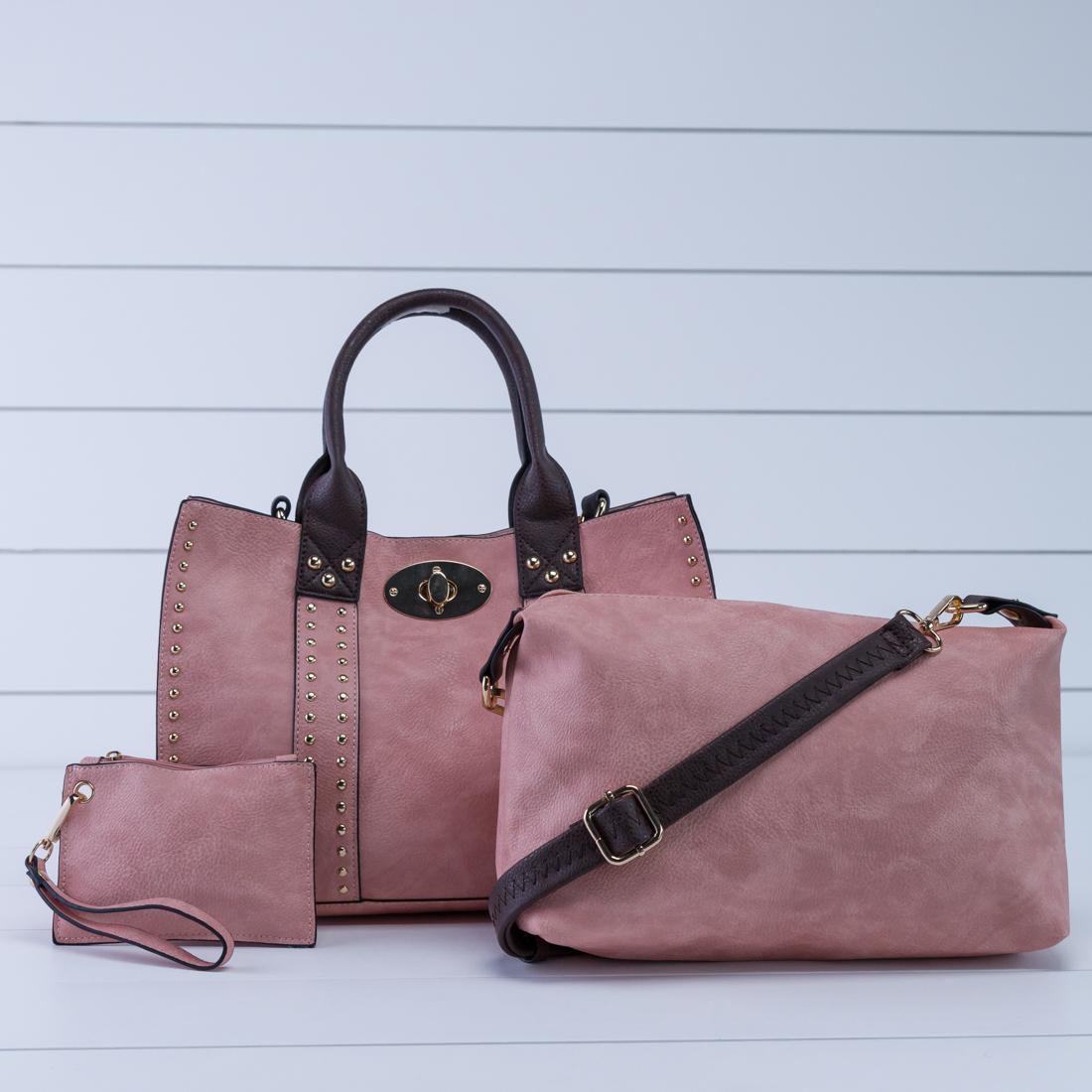 Light Coral 3-in-1 Bag