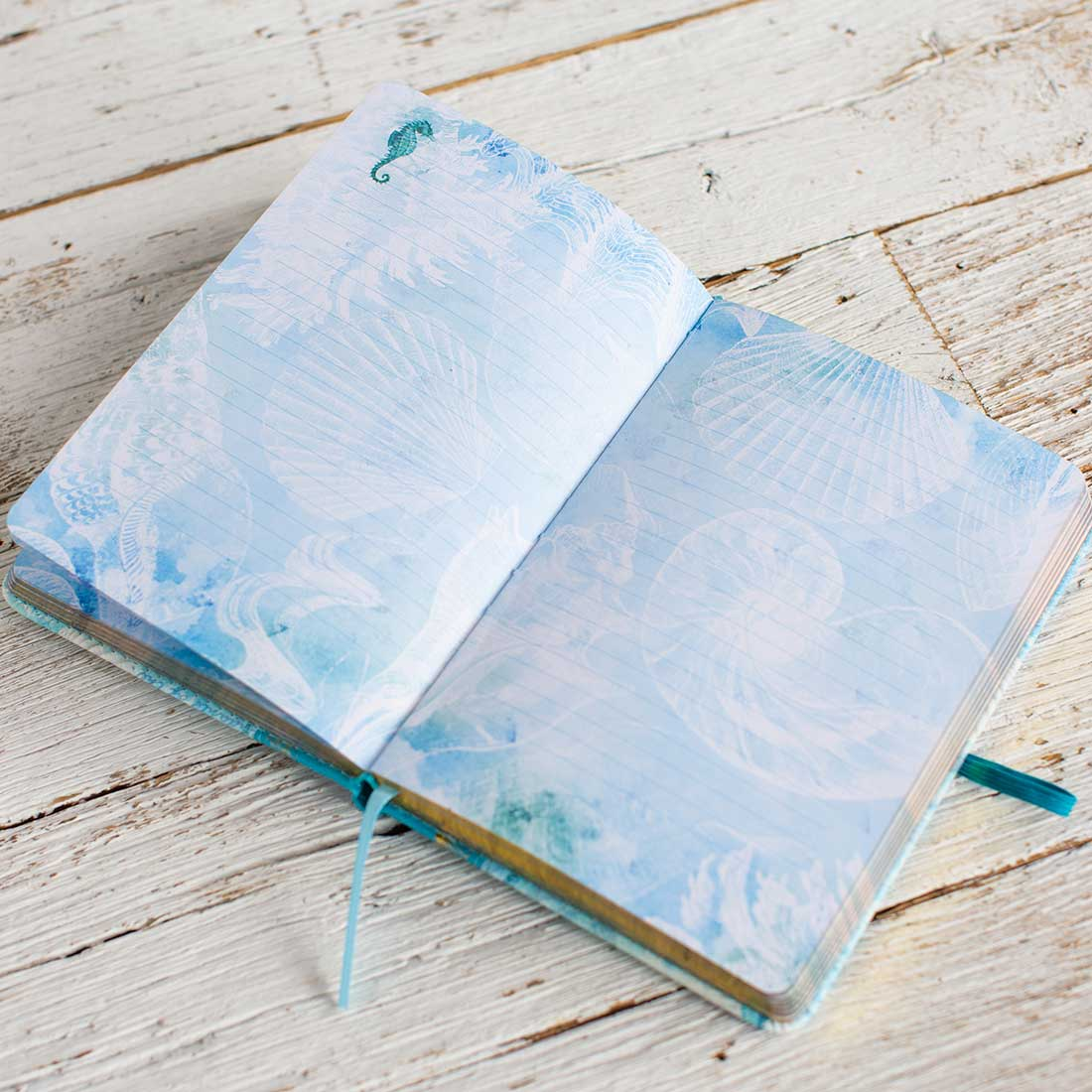 Seashell Embellished Journal