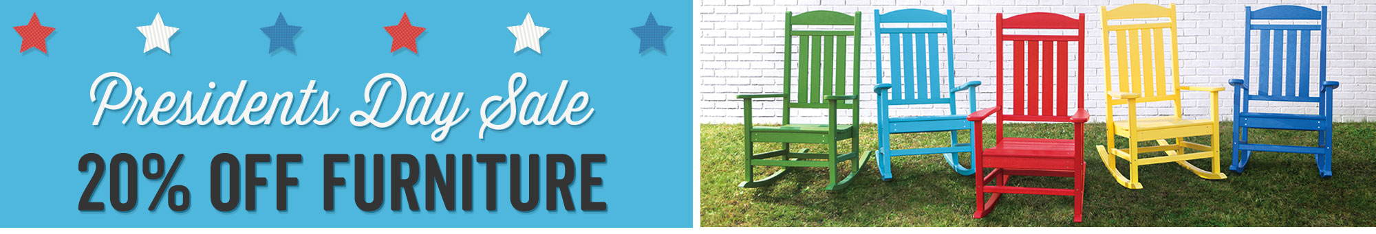 Presidents Day Sale - 20% Off Furniture