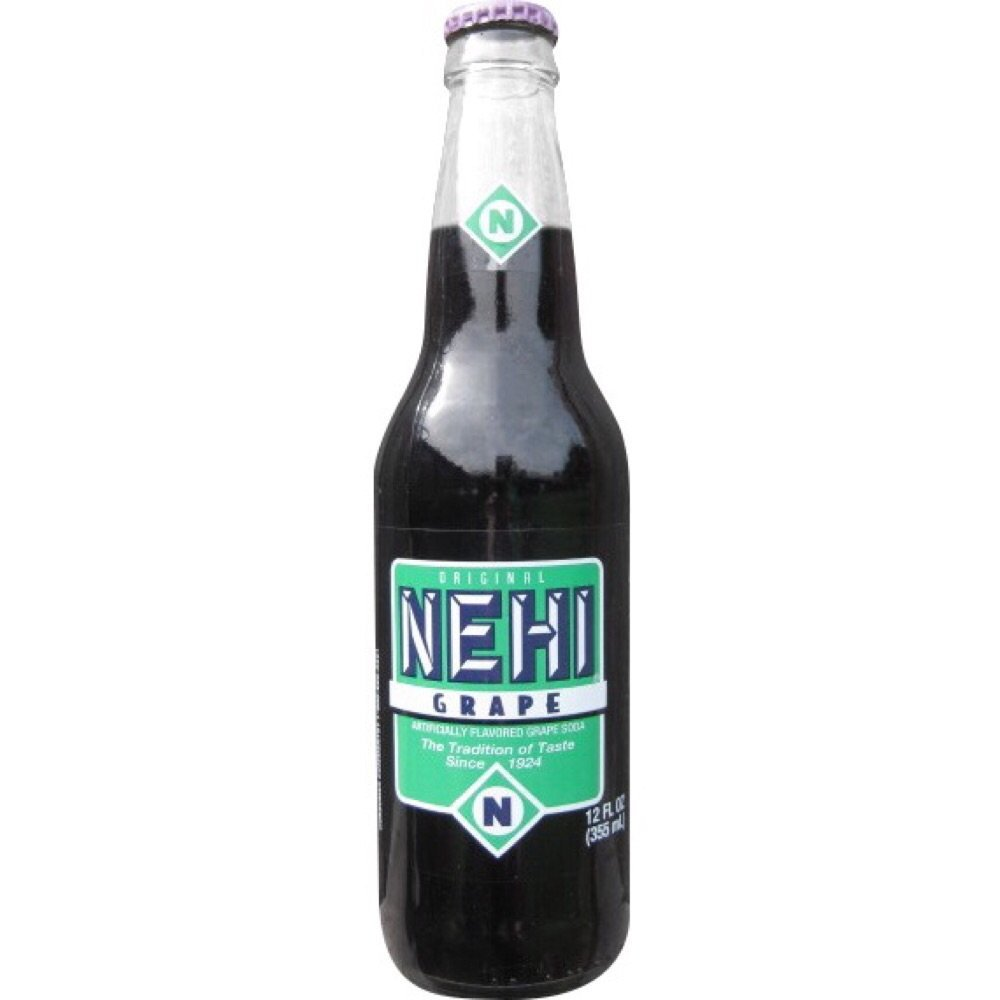 Grape Nehi Soda