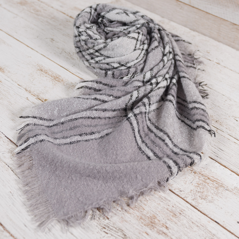 Boucle Blanket Wrap