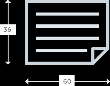 60x36