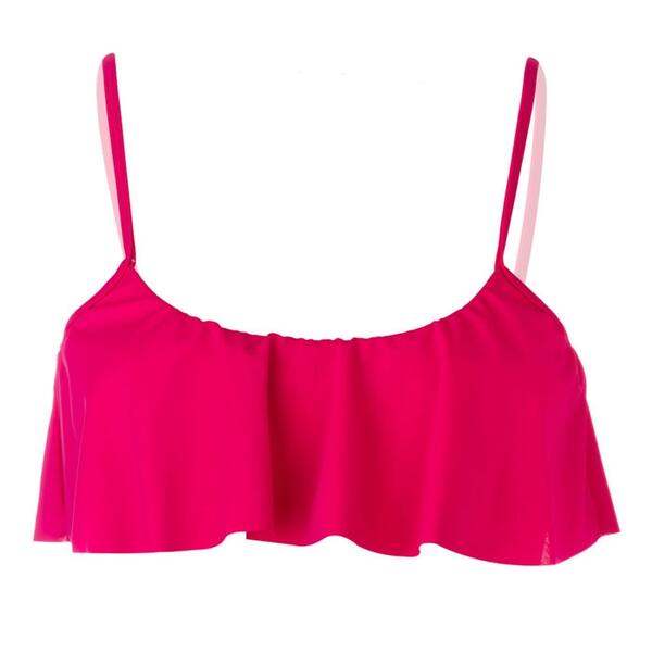 Reef Jr. Girl's Solid Crop Bikini Top