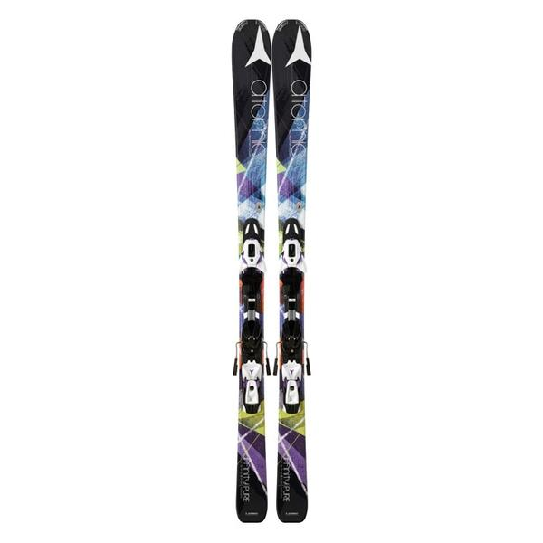 Atomic Women's Affinity Pure All Mountain Skis with XTO 10 Bindings '14