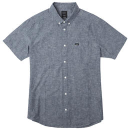 Rvca Men's That'll Do Hi Grade Button-up T Shirt