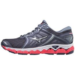 Mizuno Women's Wave Sky Running Shoes Silver