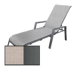 North Cape Rio Gunmetal Chaise Lounge Chair