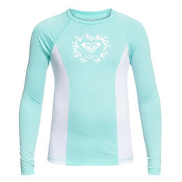 Roxy Girl's Tropi Long Sleeve Rashguard Top