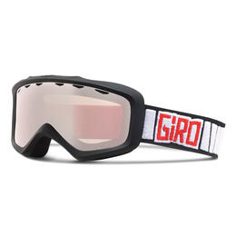 Giro Youth Grade Snow Goggles With Rose Silver Lens