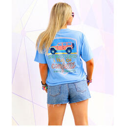 Jadelynn Brooke Women's Trail of Confetti Jeep T-Shirt