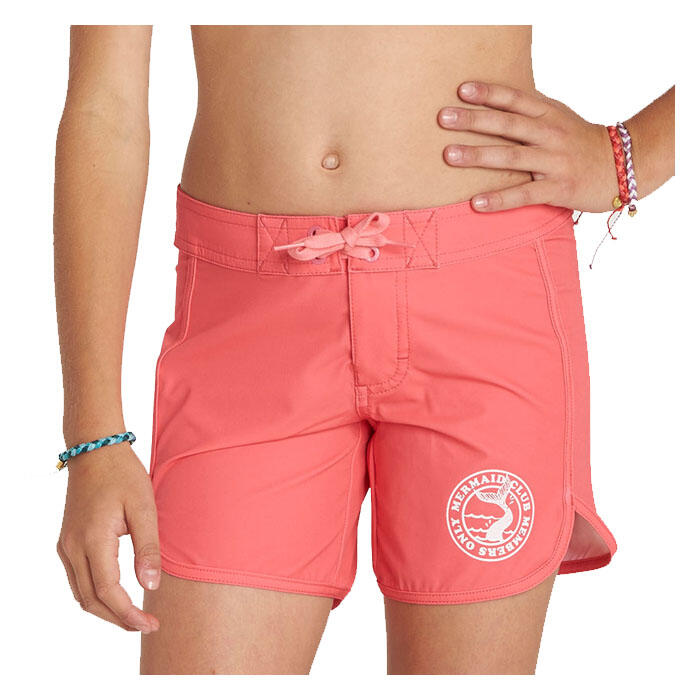 "billabong girl's sol searcher 5"" boardshorts font view"
