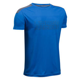 Under Armour Boy's Heatgear Activate Short Sleeve Shirt