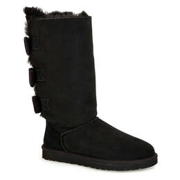 UGG® Women's Tall Bailey Knit Bow Twinface Apres Ski Boots