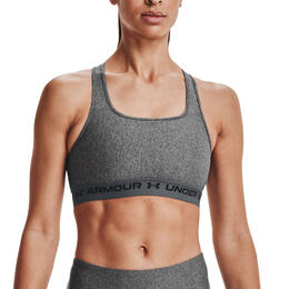 Under Armour Women's Armour® Mid Crossback Heather Sports Bra