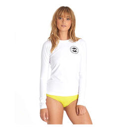 Billabong Women's Core Performanmce Fit Long Sleeve Rashguard