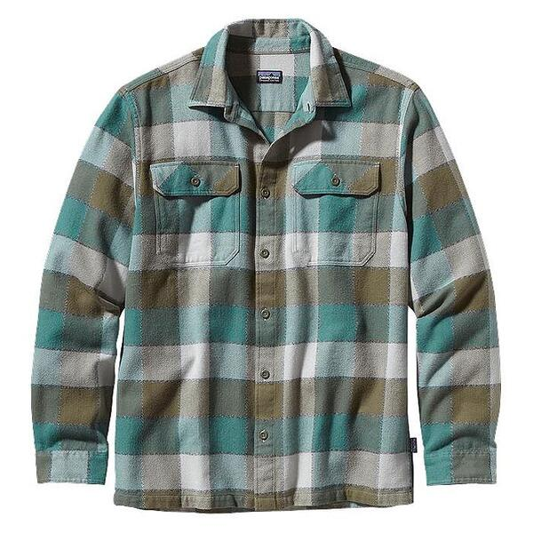 Patagonia Men's Fjord Long Sleeve Flannel Shirt