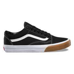 Vans Men's Gum Bumper Old Skool Shoes Black