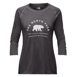 The North Face Women's 66 Classic 3/4 Sleeve Baseball Shirt