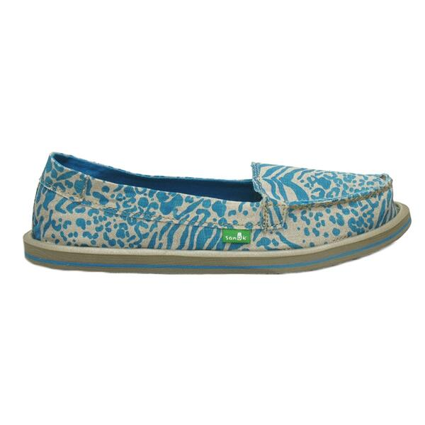 Sanuk Women's Shorty Leppatyga Casual Slip-ons