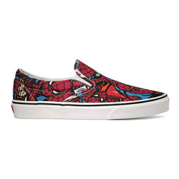 Vans Men's Spiderman Classic Slip-On Shoes