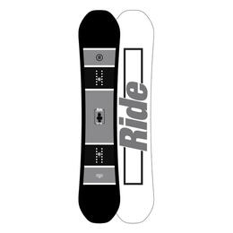 Ride Men's Crook Wide All Mountain Snowboard '18