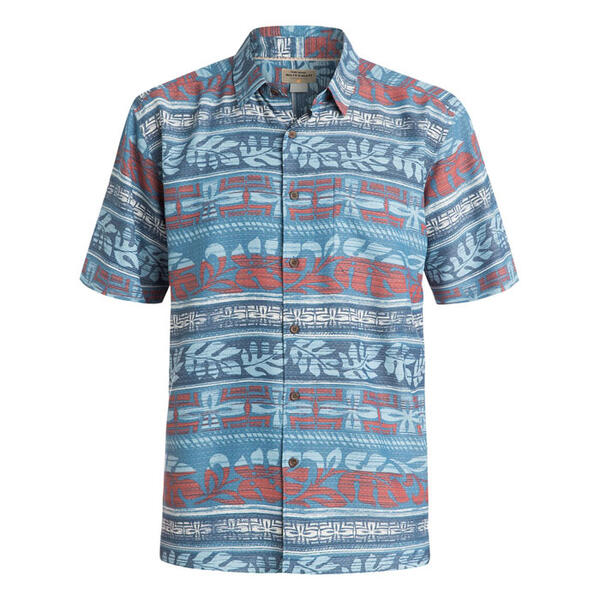 Quiksilver Men's Pina Short Sleeve Shirt