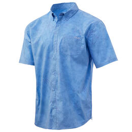 Huk Men's Kona Woven Short Sleeve Shirt