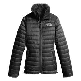 The North Face Girl's Reversible Mossbud Swirl Winter Jacket